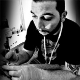 Enrico Taranto - Riko - lettering e calligraphy tattoo